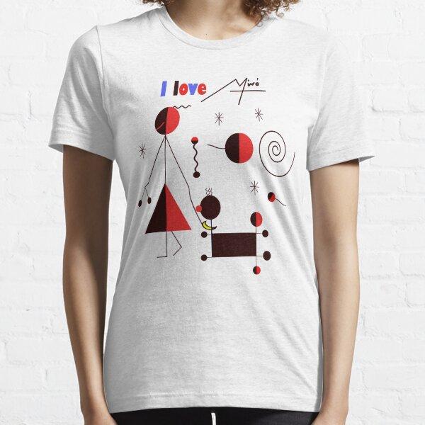 I love Miro Essential T-Shirt