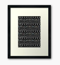 bonus black Framed Print