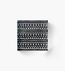 bonus black Acrylic Block