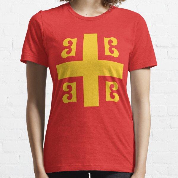 Bandera bizantina Camiseta esencial