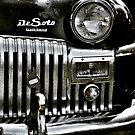 1947  Black Chrysler DeSoto by therandomimage