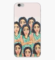 Just being iPhone Case