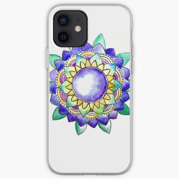 Watercolor Mandala  iPhone Soft Case