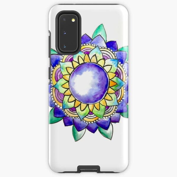 Watercolor Mandala  Samsung Galaxy Tough Case