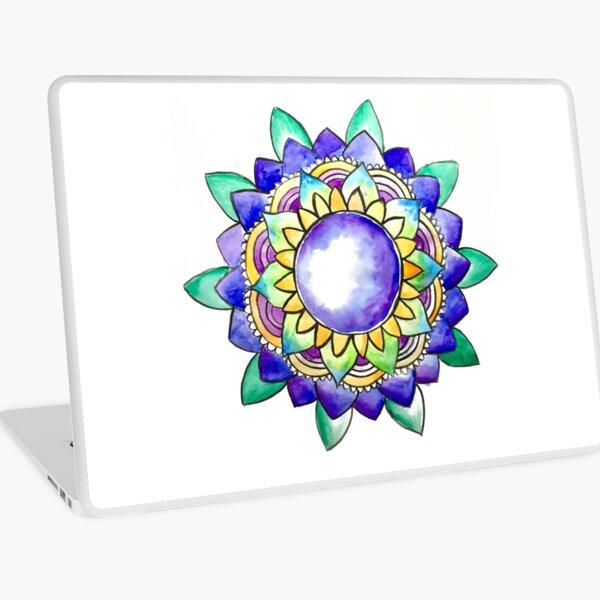 Watercolor Mandala  Laptop Skin