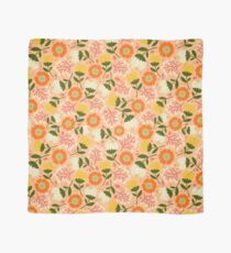 Autumn floral pink Scarf