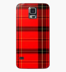 Custom iPhone or Samsung Galaxy Cell Phone Cases and Skins with Colorful Scottish Tartan Design Case/Skin for Samsung Galaxy