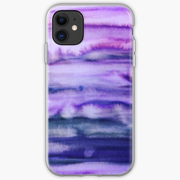 Power Purple iPhone Soft Case