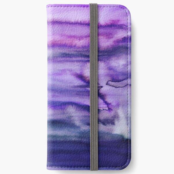 Power Purple iPhone Wallet