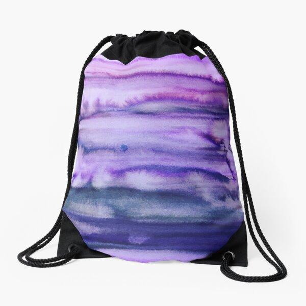 Power Purple Drawstring Bag