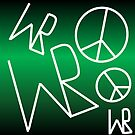 Sigil for World Peace by Paint Fremmerlid