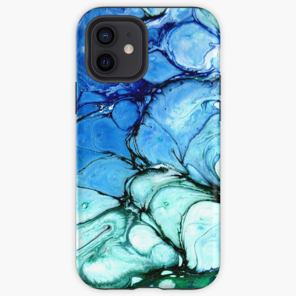 Blue Bubbles iPhone Case & Cover