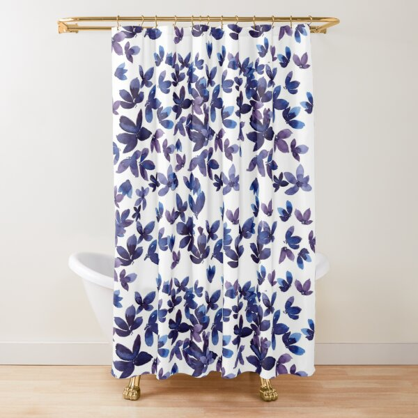 Born to Butterfly Shower Curtain