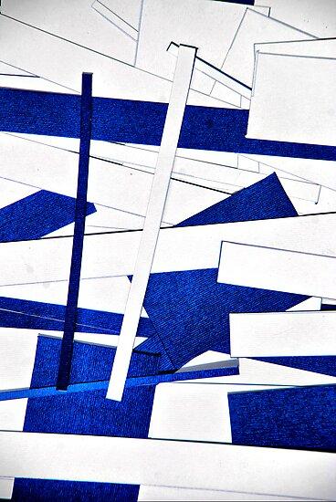 White & Blue by andreisky