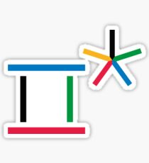 Olympic Pyeongchang, Olympic games, Olympic 2018 Sticker