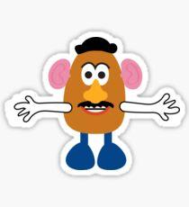 Mr Potato Head Sticker