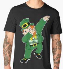 Dabbin' Leprechaun Men's Premium T-Shirt