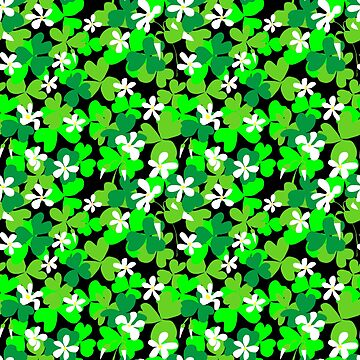 St Patrick's Day Shamrocks  by ArtVixen