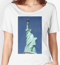 Statue of Liberty, New York Women's Relaxed Fit T-Shirt