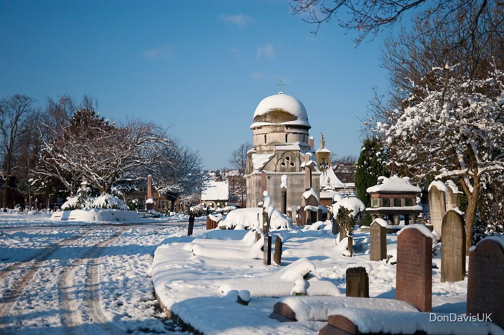 White Blanket Graveyard by DonDavisUK