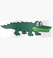King Gizzard Gator Green Poster