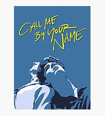 Lámina fotográfica Call Me by Your Name