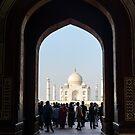 Taj Mahal 02 by Werner Padarin