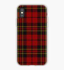 red Tartan Plaid iPhone Case