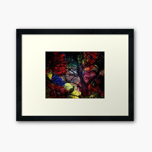 Magpie Dawn Framed Art Print