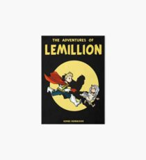 Lemillion (Tintin) Art Board