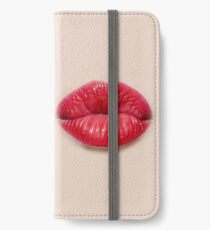 Lips Art - Big iPhone Wallet/Case/Skin