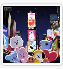 BT21 - Night in New York Sticker