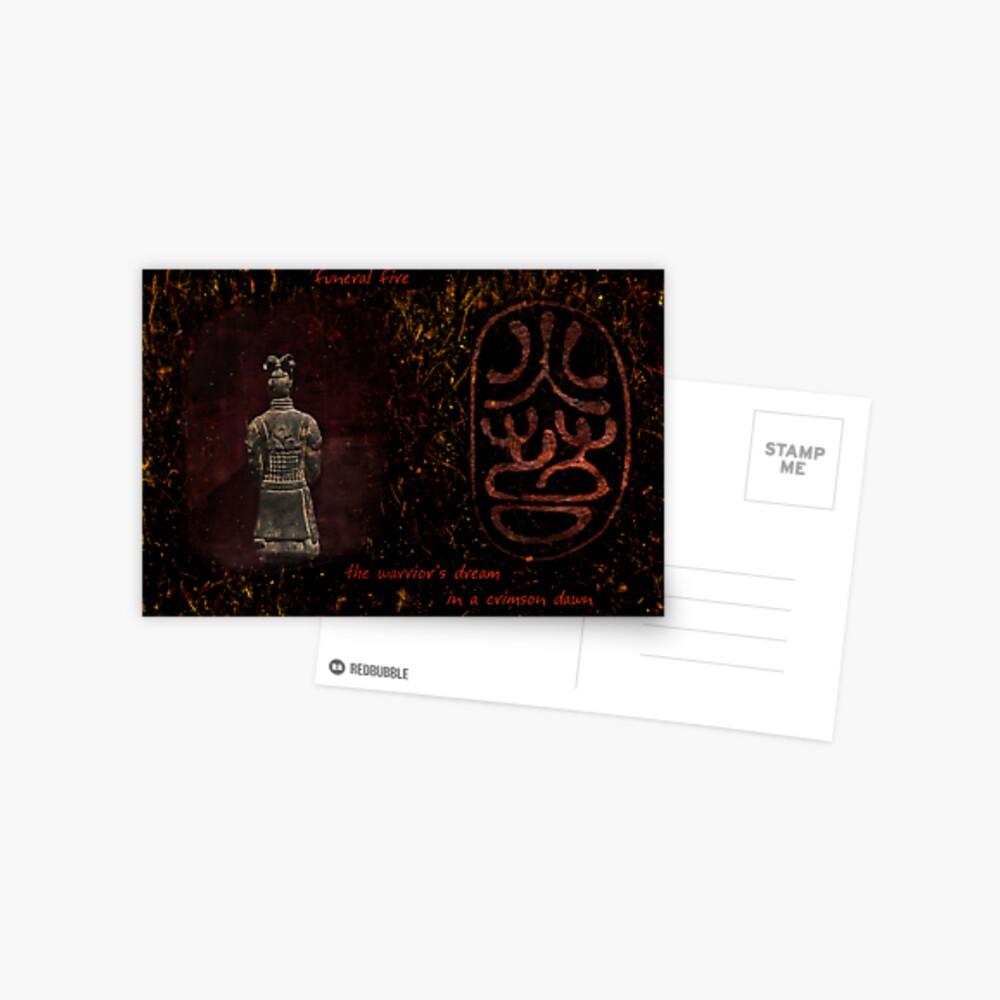 Bronze Warrior Postcard