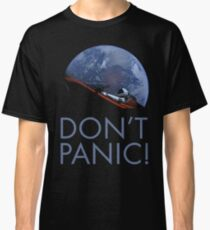 Spacex DON'T PANIC In Space Classic T-Shirt