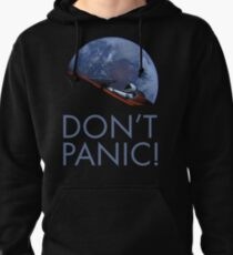 Spacex DON'T PANIC In Space Pullover Hoodie