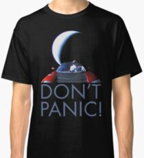 Spacex Starman DON'T PANIC Classic T-Shirt