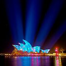 Vivid Opera House 2013 by Erik Schlogl