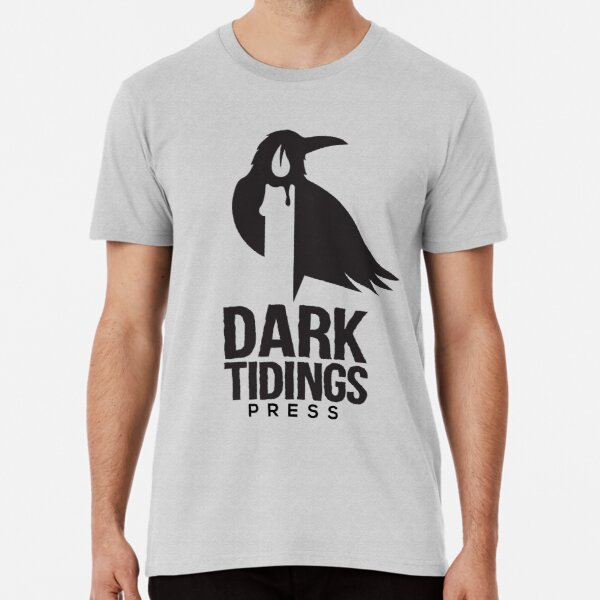 Dark Tidings Press Logo Premium T-Shirt