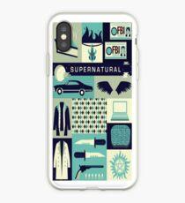 Supernatural Collage Art iPhone Case