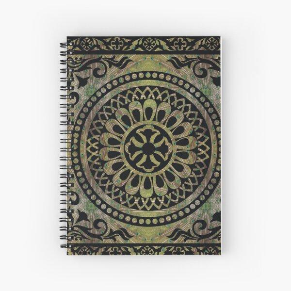 Consonant, concordant, rich, wealthy, affluent, abundant, full, opulent,  heavy, ample Spiral Notebook