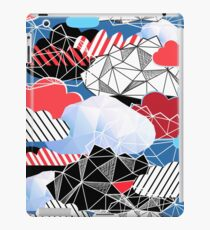 Seamless bright pattern from different clouds iPad Case/Skin