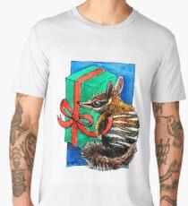Christmas Numbat wrapping presents Men's Premium T-Shirt