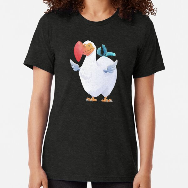 Cute Dodo Bird (Dododex for Ark: Survival Evolved) Tri-blend T-Shirt