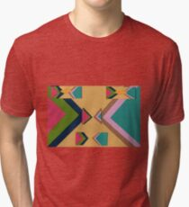 Rapped in Ribbons (Facemadics) Tri-blend T-Shirt