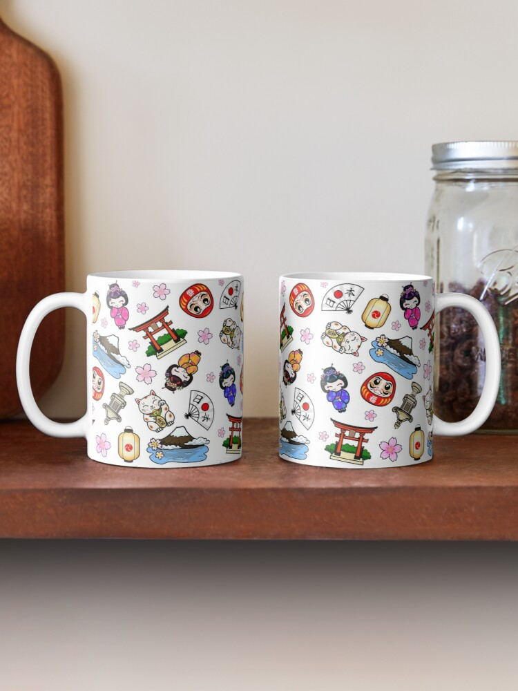Alternate view of Japan Mania pattern Mug