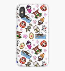 Japan Mania pattern iPhone Case
