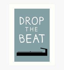 Lámina artística Hip Hop, Drop the Beat