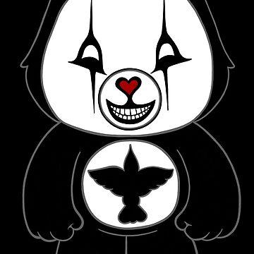 Schreckens-Bären - Krähen-Bär - Lächeln von storybeth
