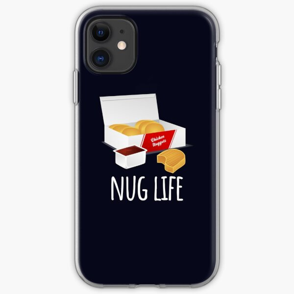 Nug Life - Chicken Nuggets iPhone Soft Case