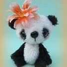 Yu Yan, Panda Bear from Teddy Bear Orphans by Penny Bonser